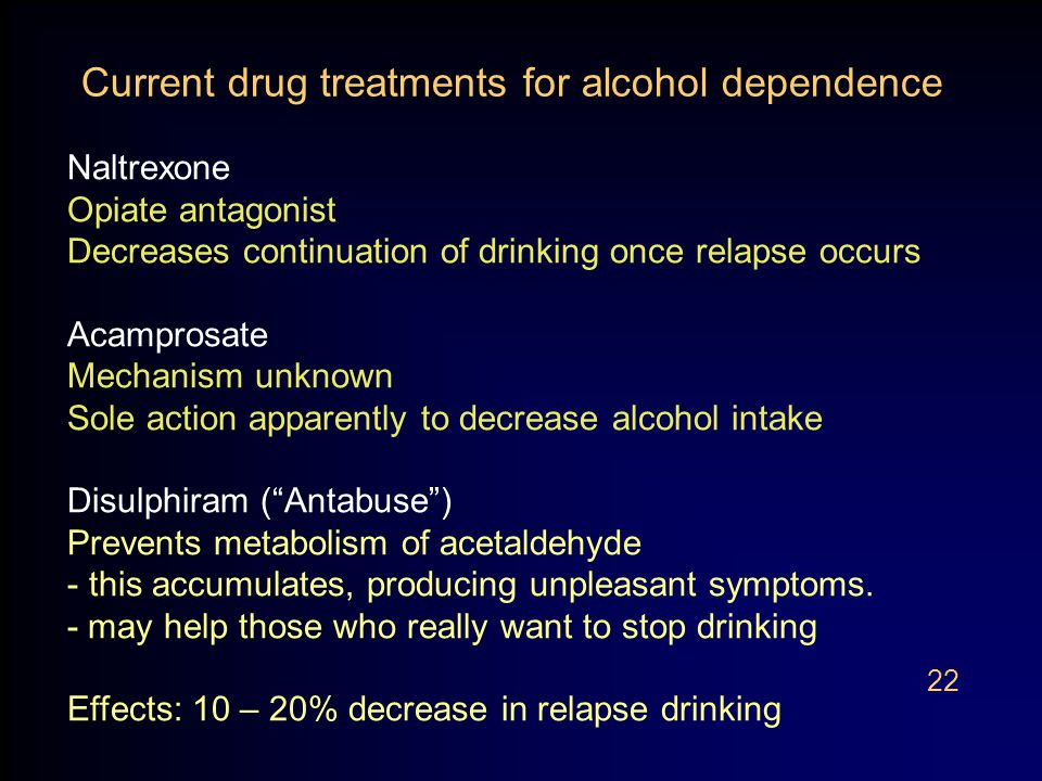 stop drinking effects