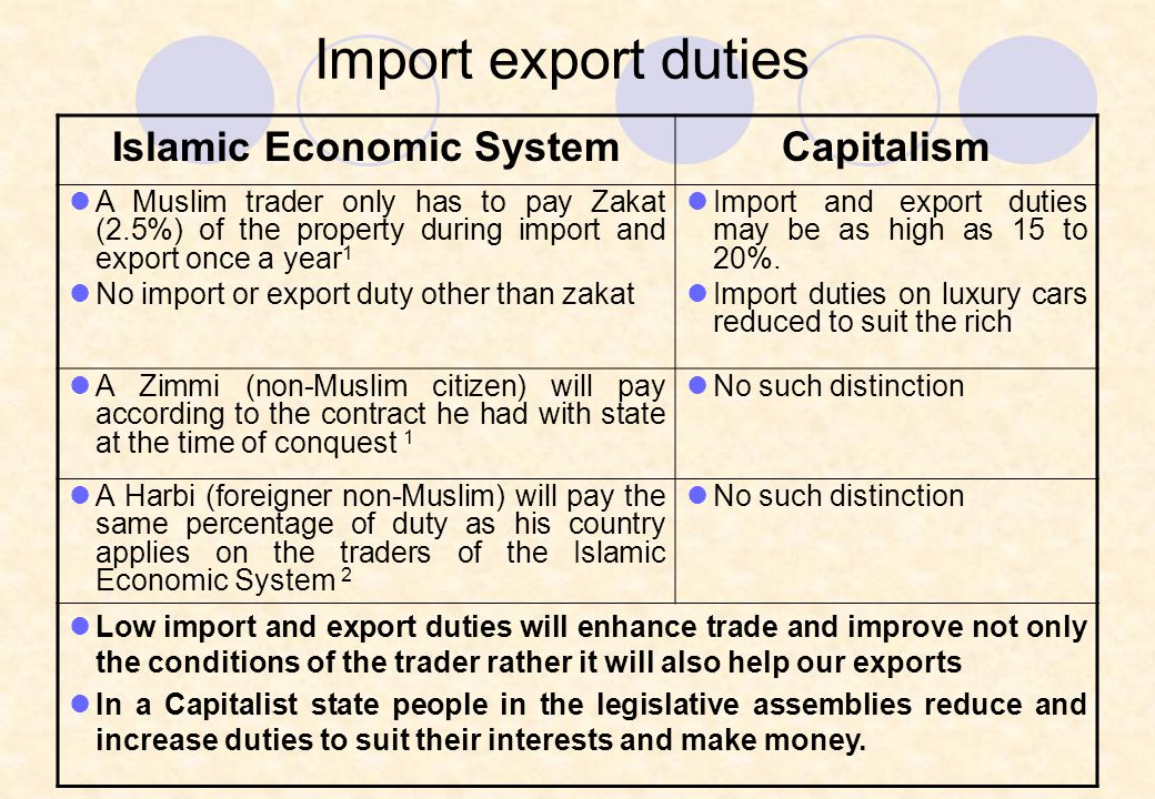 islamic economic system An islamic economic system is not necessarily concerned with the precise  amount of financial income and expenditure, imports and exports, and other  economic.
