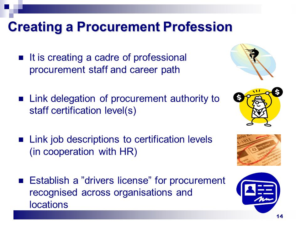 Procurement Certification Who Needs It Ppt Video