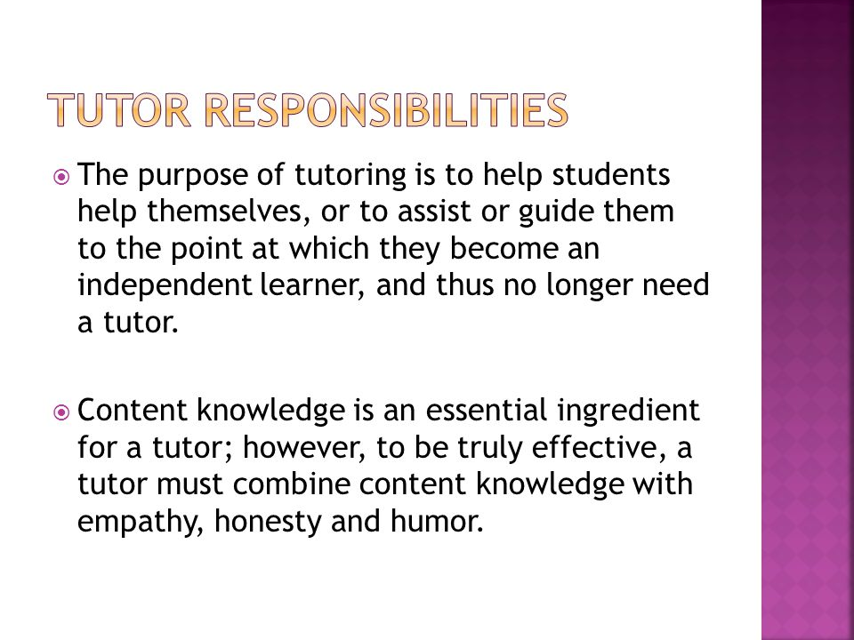how to become an independent tutor