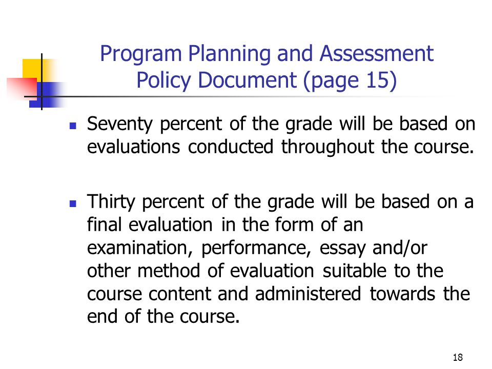 Program Planning and Assessment Policy Document (page 15)