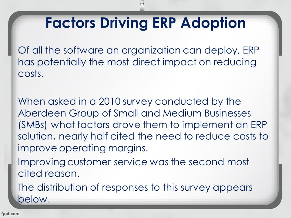 Smu_the Role of Organizational Factors in Realizing Erp Benefits _synopsis_amity