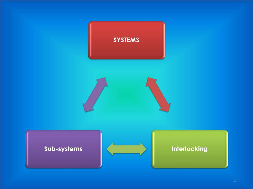 SYSTEMS Interlocking Sub-systems