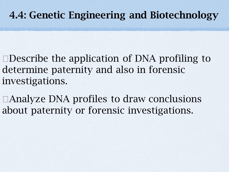 worksheet Biotechnology Worksheet 4 genetic engineering and biotechnology ppt download biotechnology