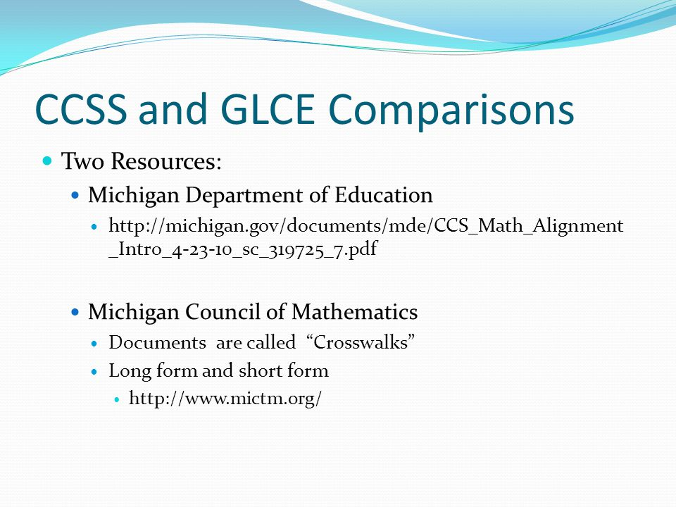 Common Core State Standards CCSS - ppt download
