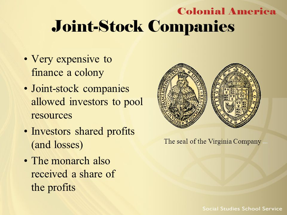 joint stock companies Start studying joint stock company learn vocabulary, terms, and more with flashcards, games, and other study tools.