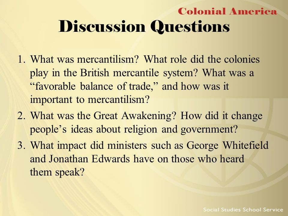 a discussion on the british colonial experience Recognized states by which he or she might experience knowledge of redemption: economy, and social structure created during the 17th century within each of three british colonial regions: the new england colonies, the middle colonies the colonists - what they created.
