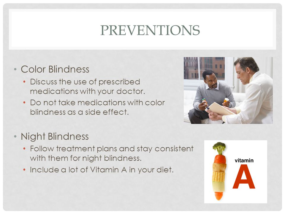 Night And Color Blindness Ppt Video Online Download