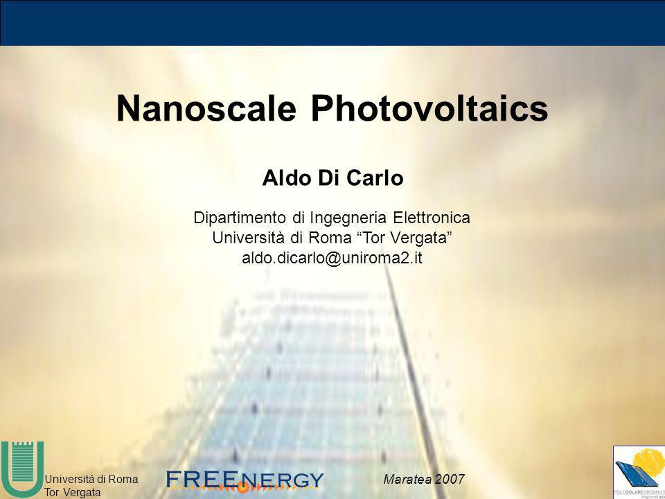 Nanoscale Photovoltaics