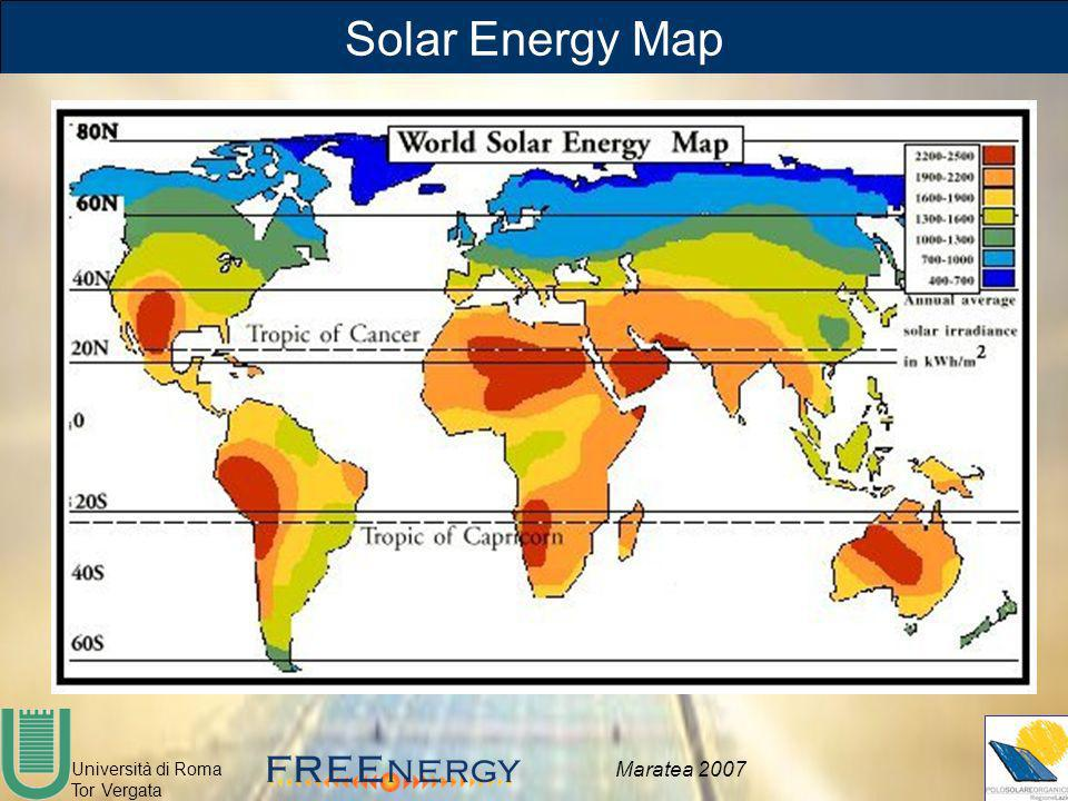 Solar Energy Map