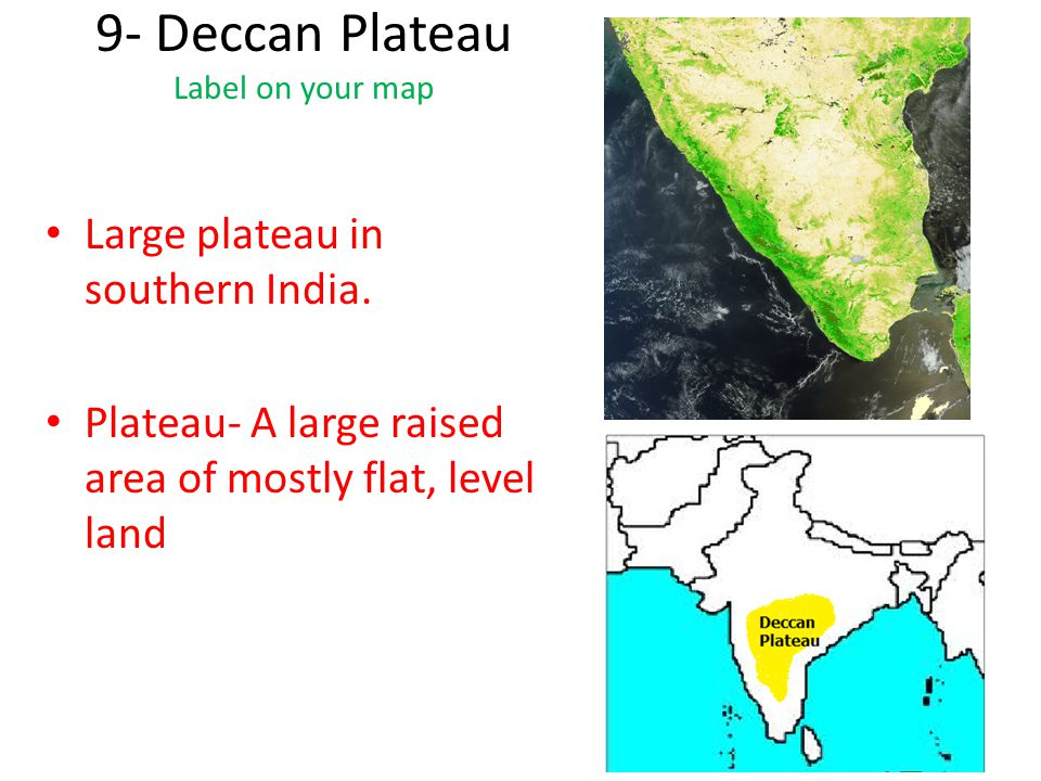 deccan plateau rivers - photo #27