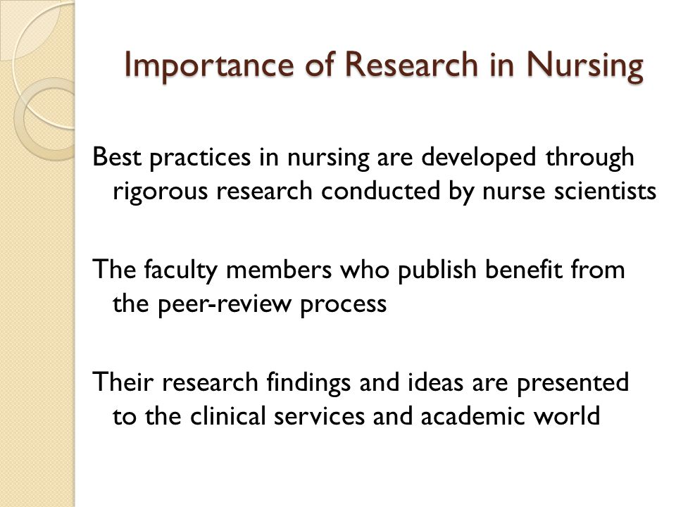 peer reviewed research articles in nursing Research articles submit a manuscript the journal of emergency nursing welcomes unsolicited articles including peer-reviewed articles, department/section articles and letters to the editor.