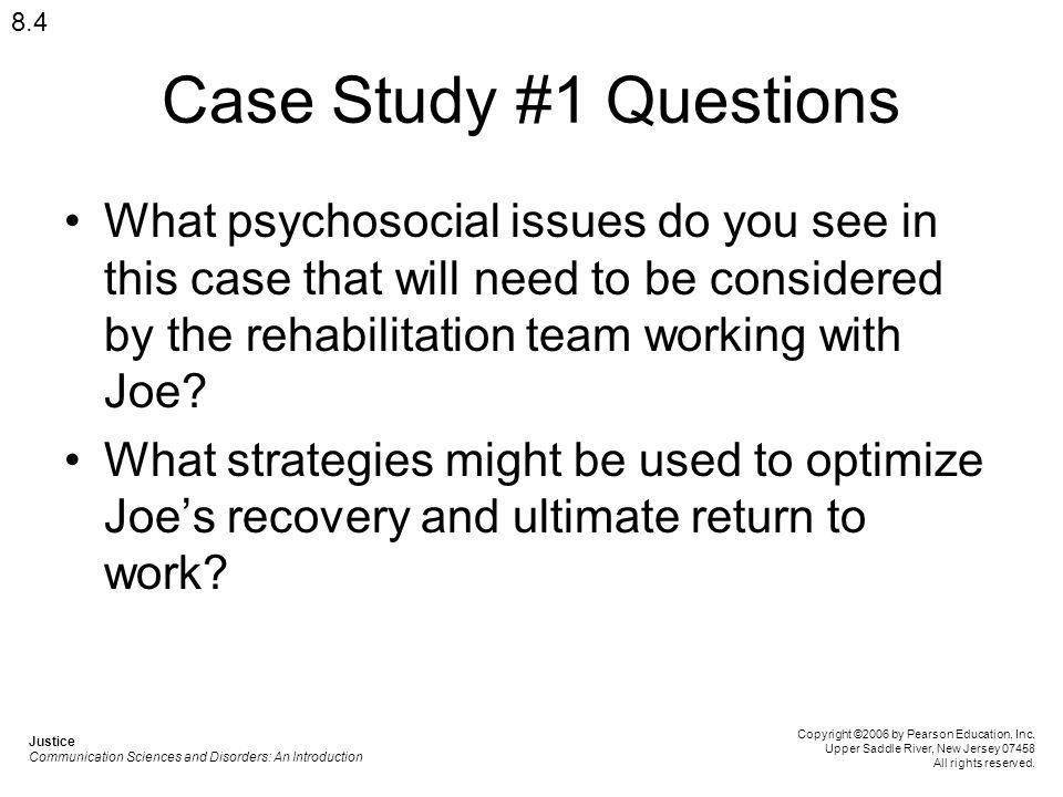 Communication case study questions