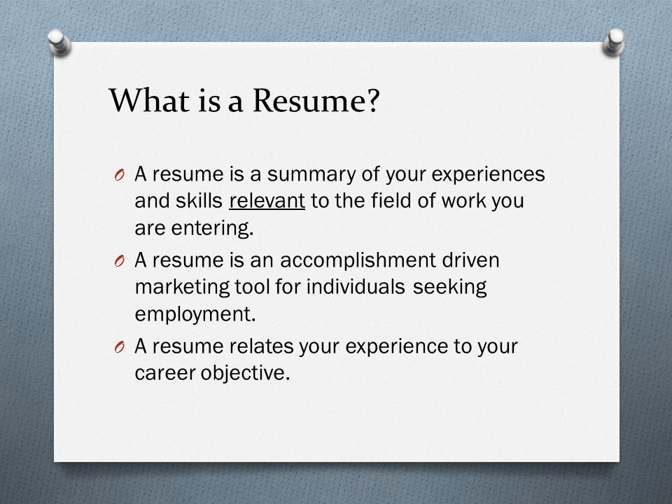 Resume & Cover Letter Writing - Ppt Download