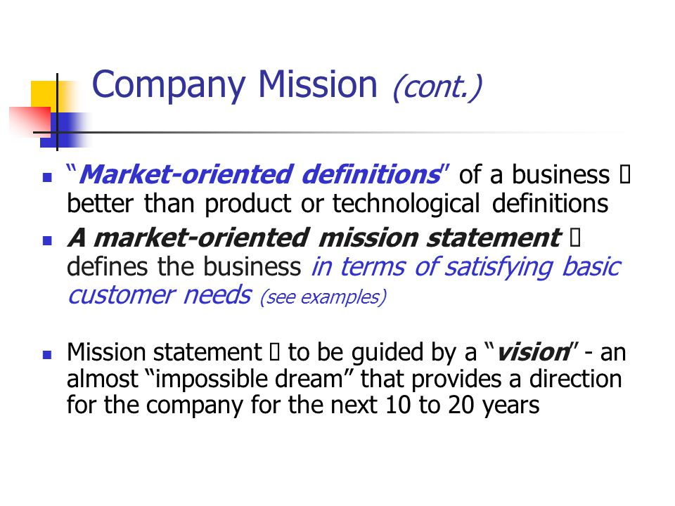 example of market oriented company Market orientation is a company's alignment of strategies with business intelligence derived from assessing customer needs and competitor data market .