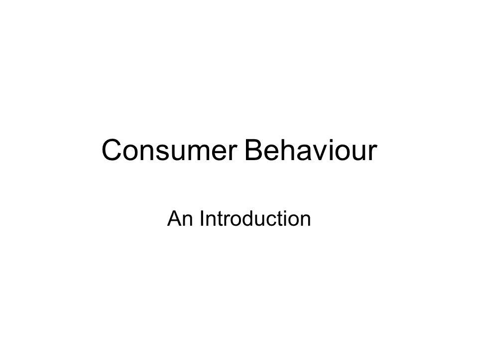 Consumer behaviour essay introduction