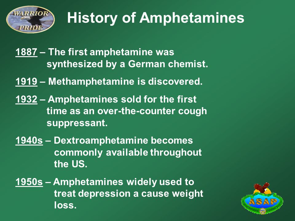 types of amphetamines for weight loss
