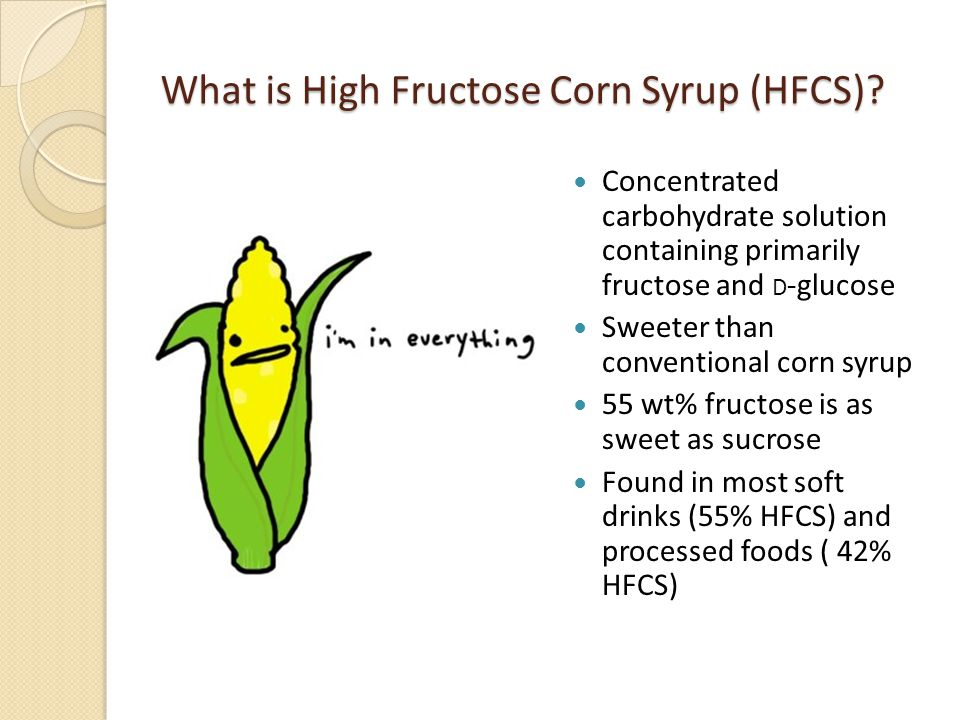 high fructose Irrespective of glucose content, some foods naturally contain a high load of fructose, ie over 3g per serving, or of fructans, ie over 05g/serving.