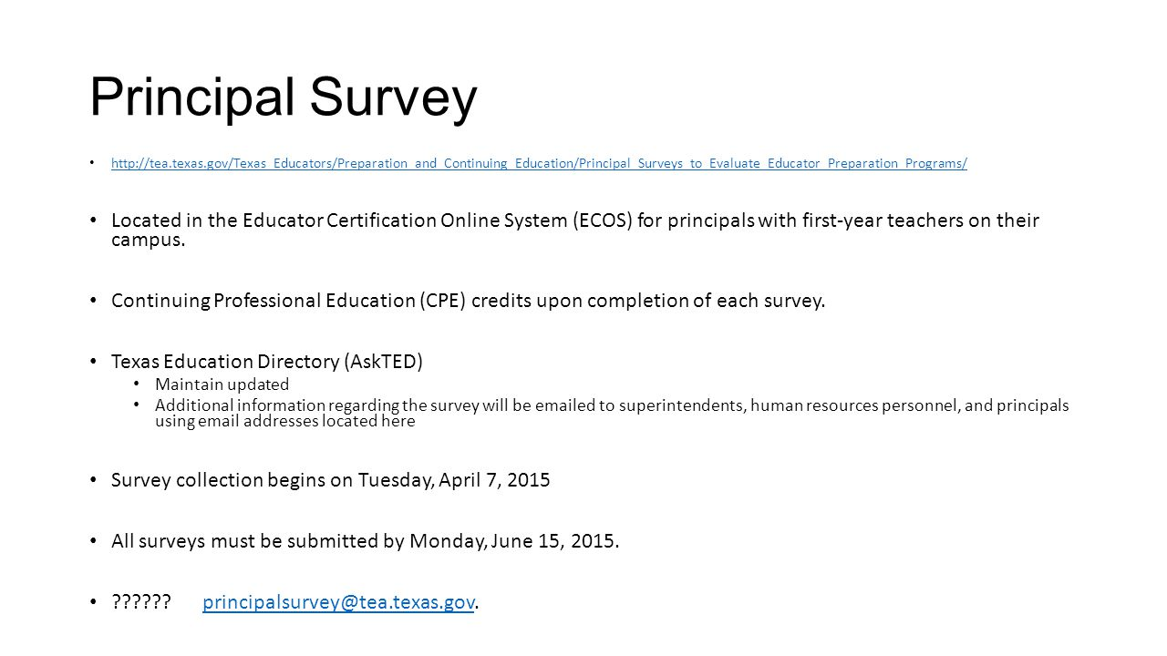 Human resources advisory council ppt download 4 principal survey located in the educator certification online xflitez Choice Image
