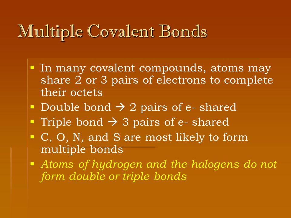 Covalent Compounds. - ppt download