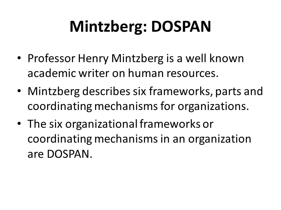 mintzberg essay Additional roles and skills of managers mintzberg's management roles mintzberg defined ten management roles within three categories: interpersonal.