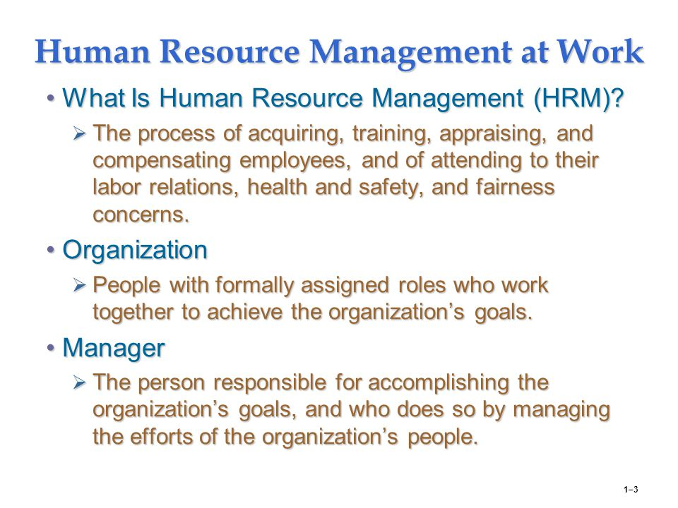 resources at work