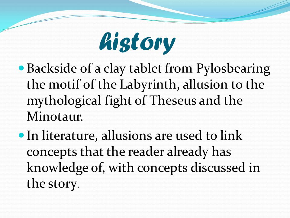 Allusions Ppt Download