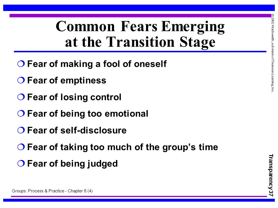 fear of losing control Ocd symptoms may include the fear of hurting other people through carelessness or negligence ids examples of the fear of harming others.