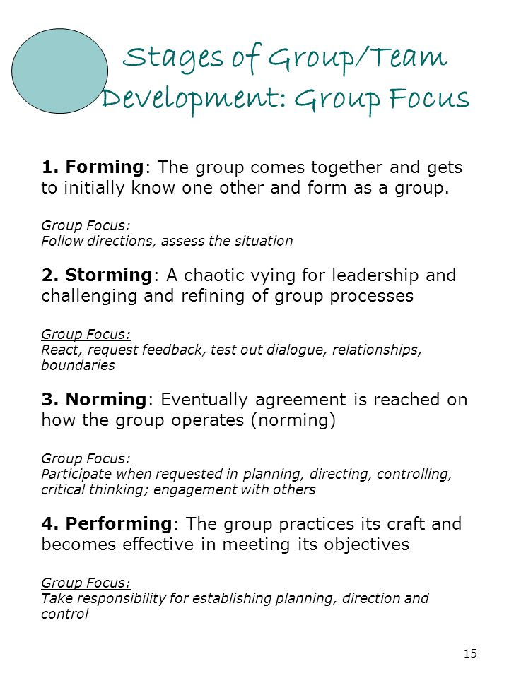 stages of development in critical thinking