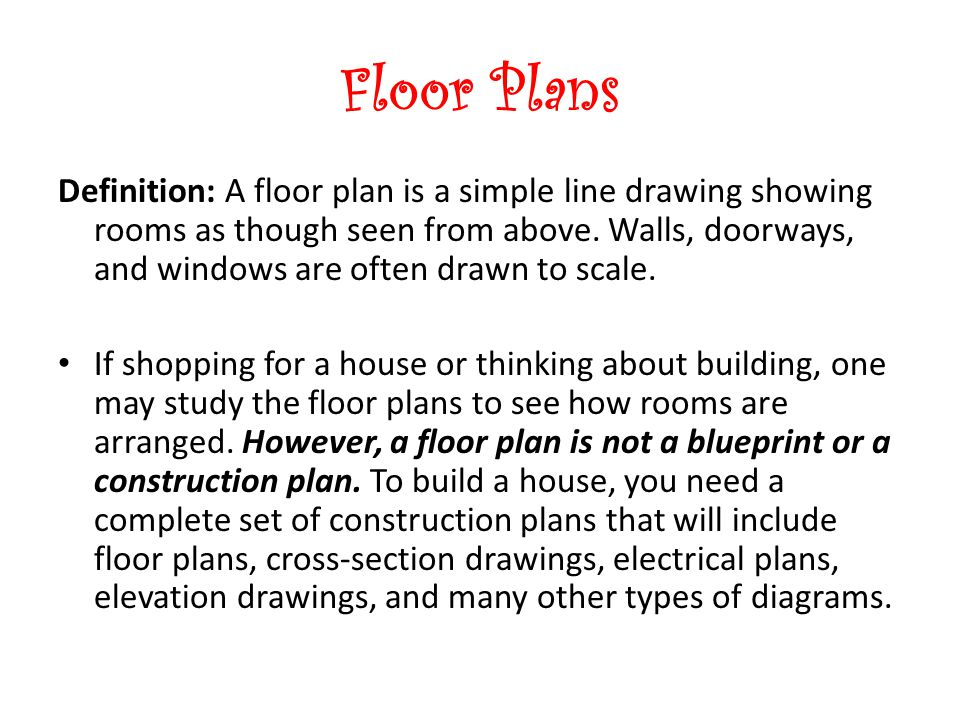 Elevation Plan Definition : Quietly complete anaylzing housing worksheet ppt video