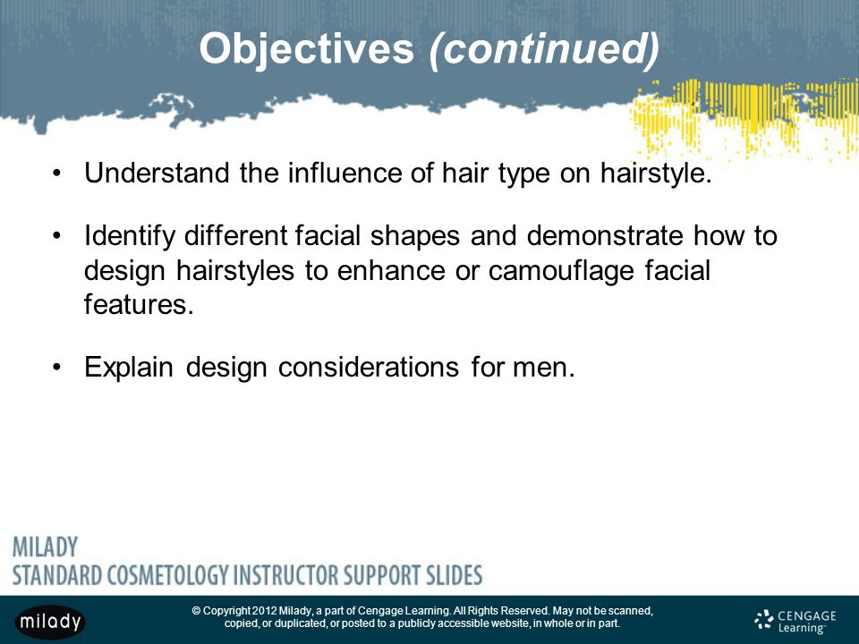 Chapter  Principles Of Hair Design