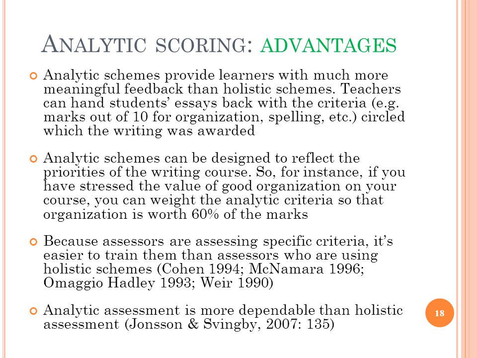 evaluating and scoring essay tests An evaluation of automated scoring of naplan automated essay scoring systems to replicate human marking of naplan persuasive the test essays were provided.