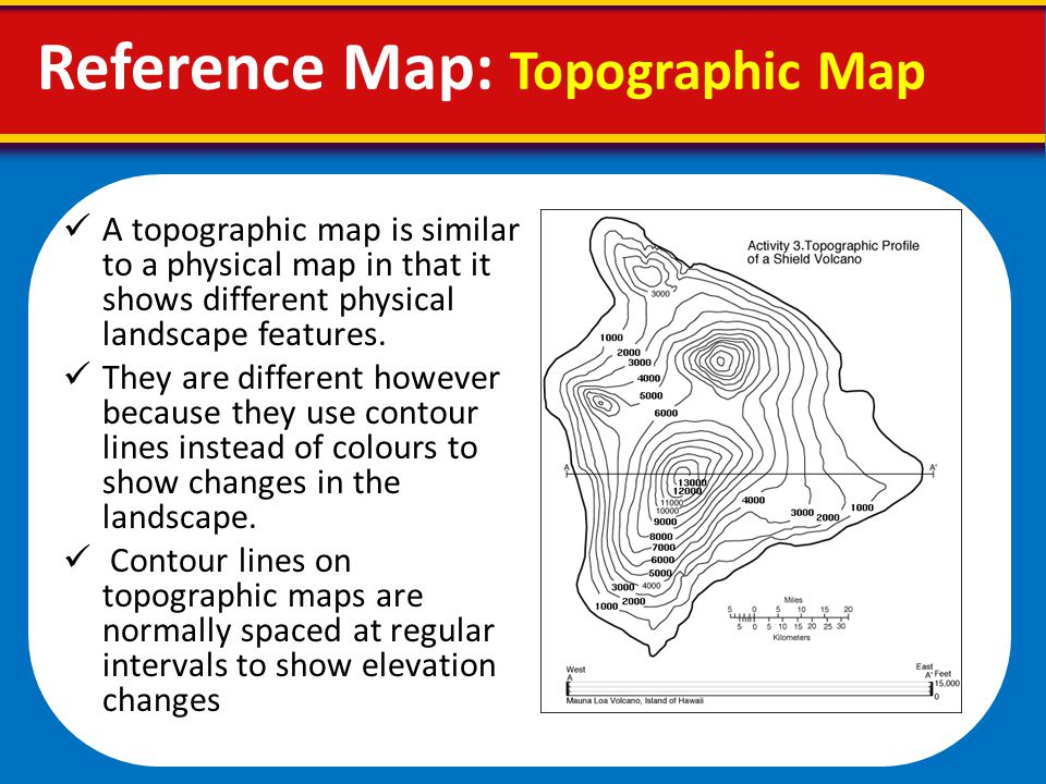 Reference Map Topographic Map