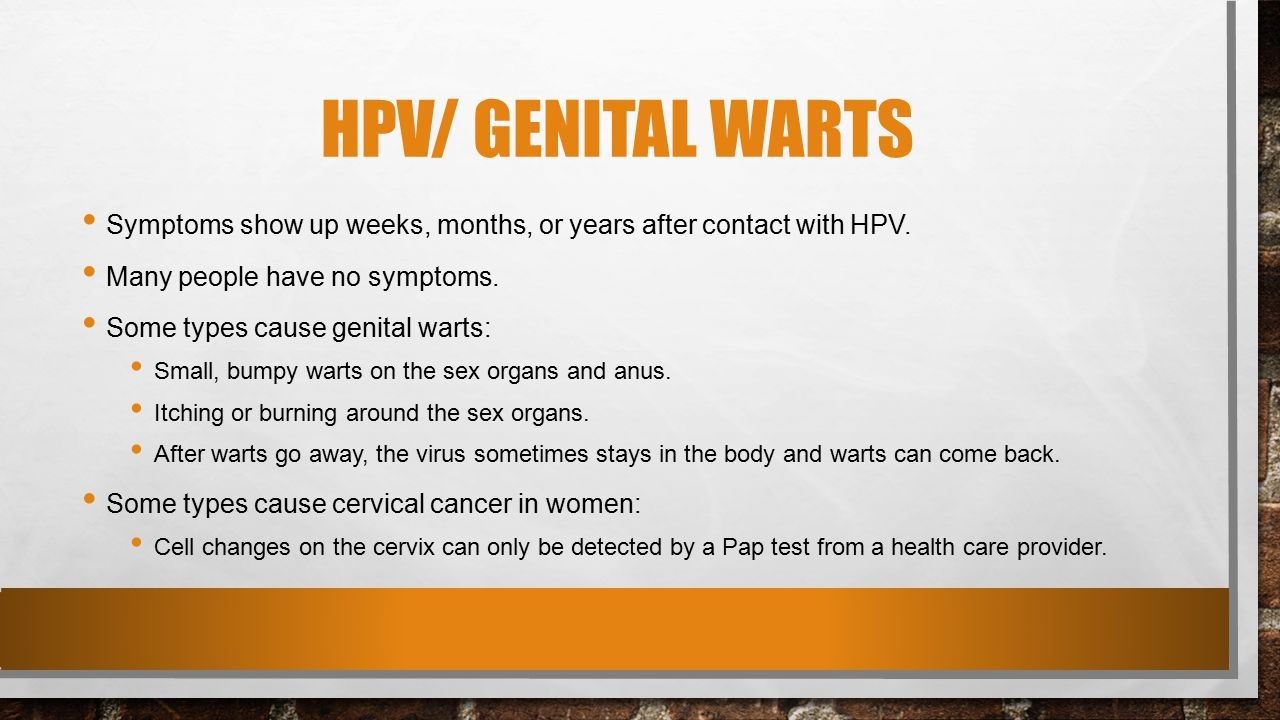 how to make hpv warts go away