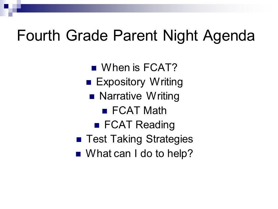 8th grade fcat writing prompts
