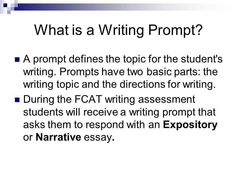 narrative essay prompts