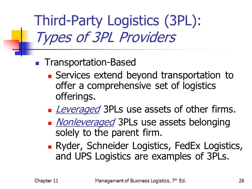 third party logistics Small to mid-sized businesses may find it challenging to search for the right 3pl  company this list names and describes the top 18 3pl providers by region.