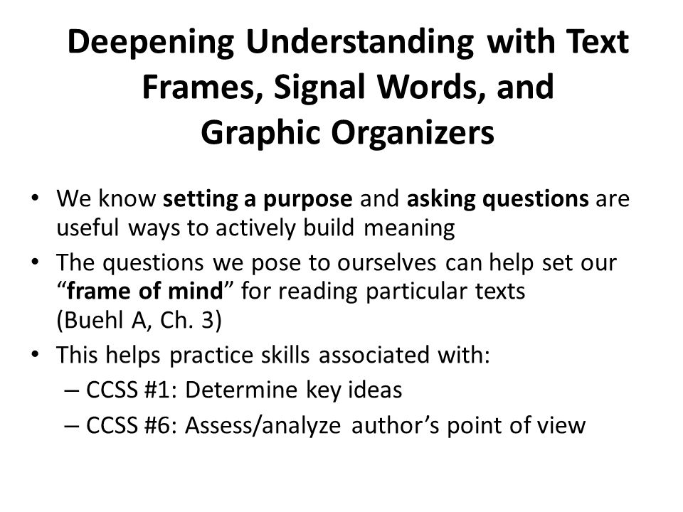deepening our understanding of the target