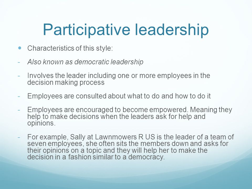 Leadership style Holly Grant. - ppt download