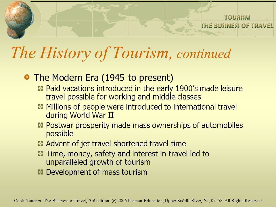 history of tourism and its development Its history, and a recent extraordinary development history of space tourism its history, and a recent extraordinary development,.