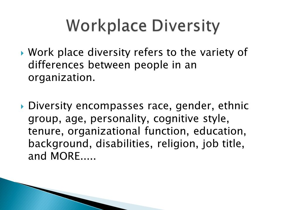 CDC Diversity and Inclusion Management