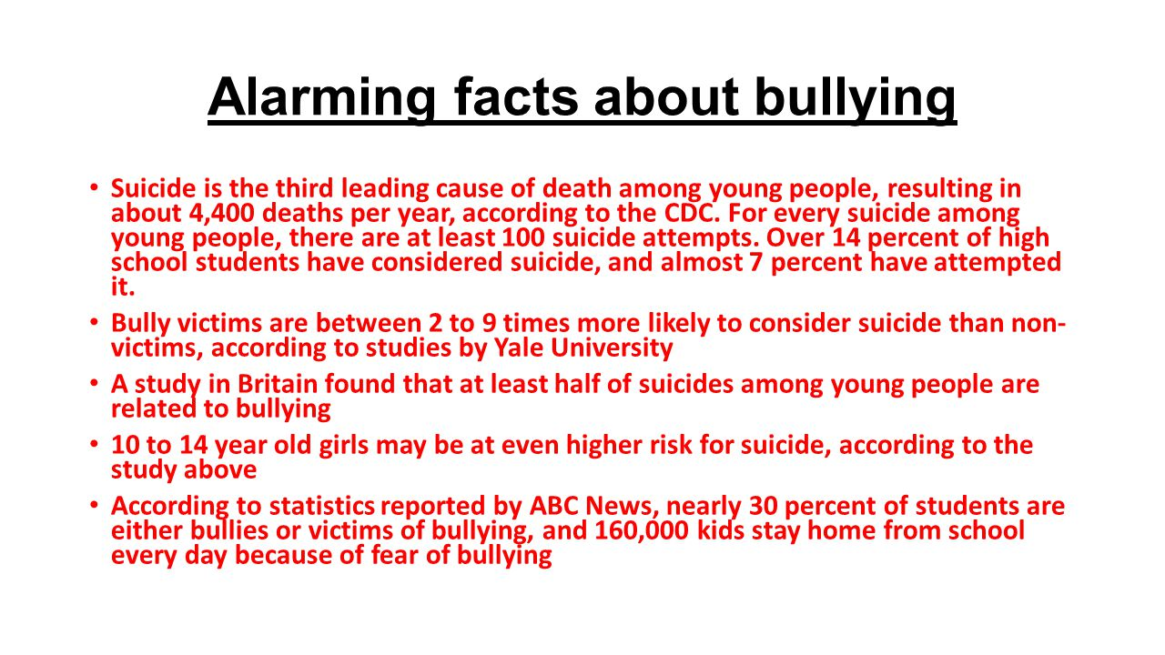 Bullying and Suicide: A Public Health Approach