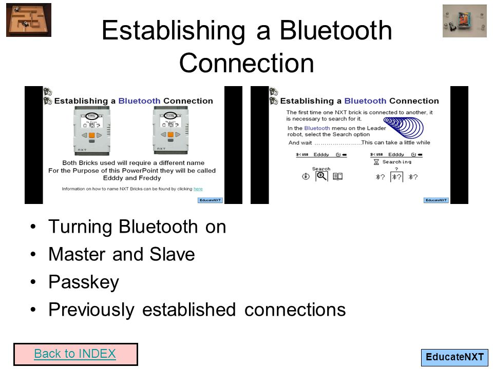 Establishing a Bluetooth Connection