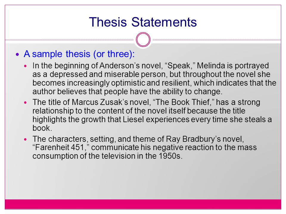 thesis statement depression essay Thesis statement for depression when it comes to writing an essay, the most common mistake that a majority of the writers seem to make is when they launch straight into the main point this happens when the writer does not give any sort of introduction and jumps right into the main point, which barely resembles an introduction.
