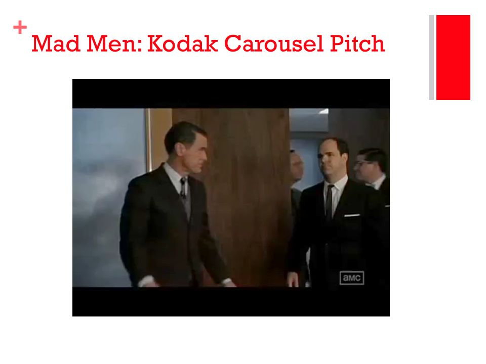 Mad Men: Kodak Carousel Pitch