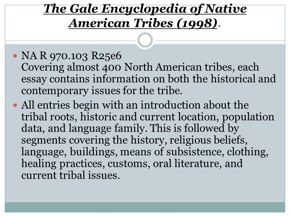 native american religion ppt video online the gale encyclopedia of native american tribes 1998