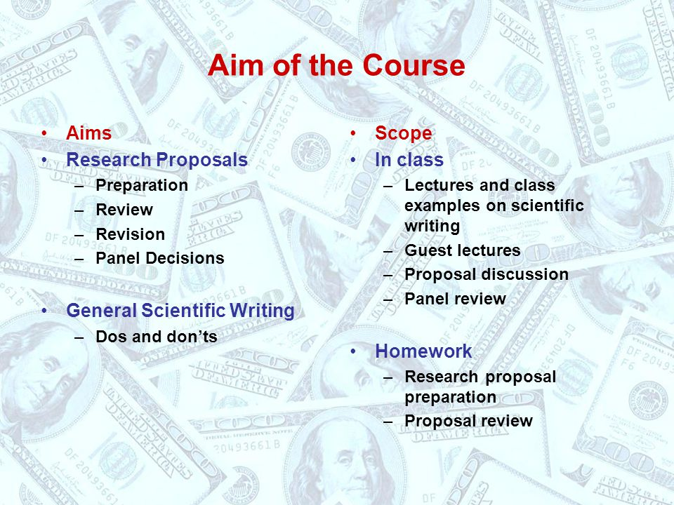 Fish 521 Research Proposal Writing - Ppt Video Online Download