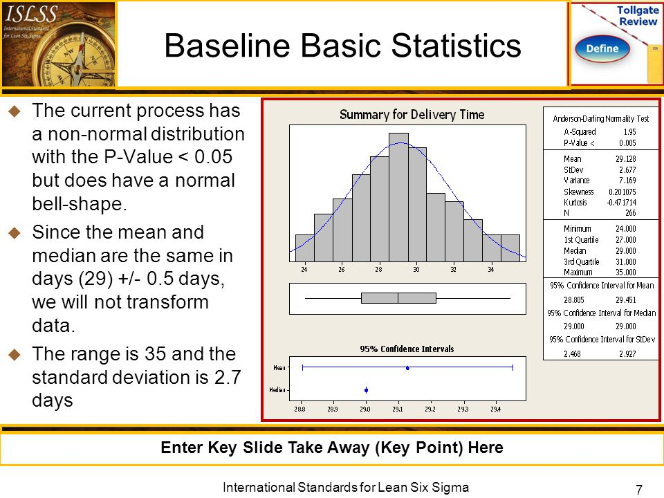 how to use basic statistics