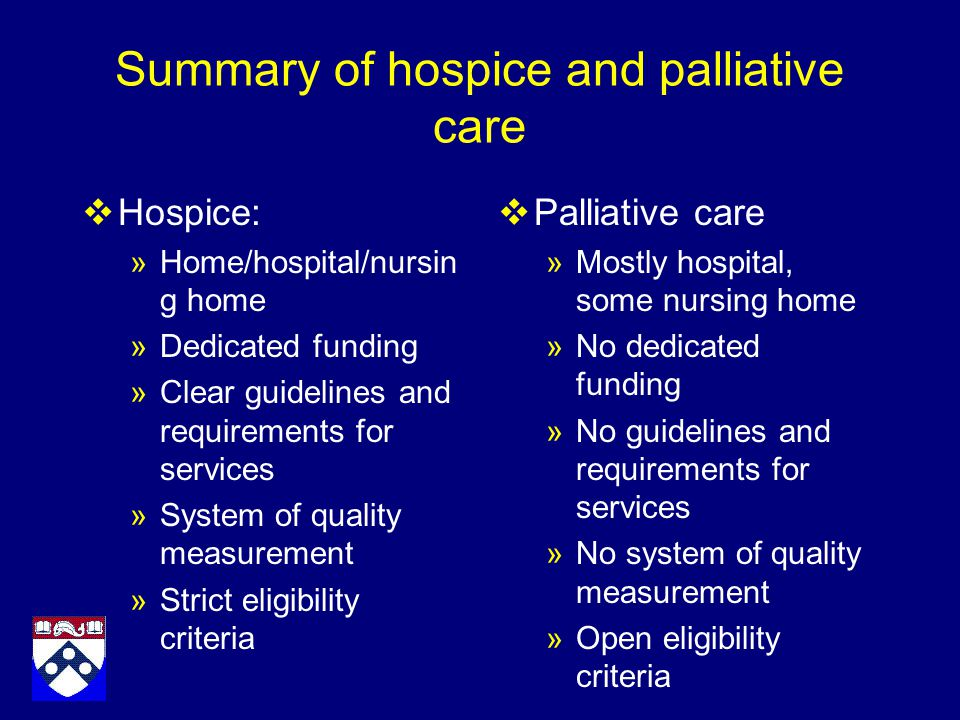underutilization of hospice and palliative care