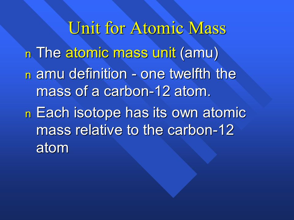 atomic mass unit essay Scientists have then defined the molar mass of a substance as the mass of  602214076 x 1023 units of that substance so, the molar mass of gray squirrels  is.